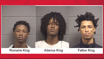 3 Warner Robins men charged in burglary investigation