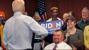 Joe Biden calls Mercer student a 'lying, dog-faced pony soldier' at New Hampshire event