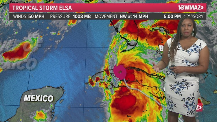 Tracking the Tropics (July 5, 5 pm)