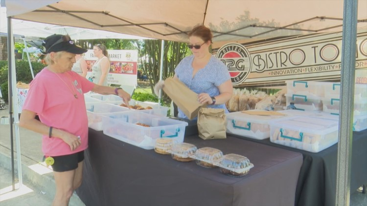 Buying local in Macon is easy at the Mulberry Market