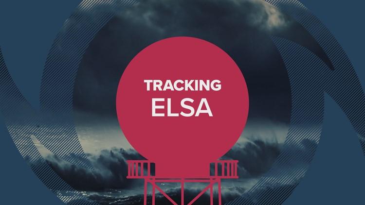 July 7, 2 PM Elsa Advisory