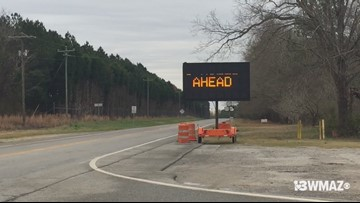 Hwy 129 closed in Twiggs Co.