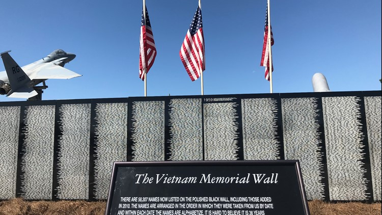 'It brings a tear to your eye:' Vietnam traveling memorial wall visits Warner Robins