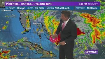 Tropical Update - Thursday Night