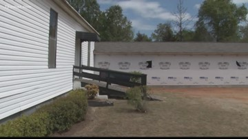 Cochran church rebuilds after shed fire