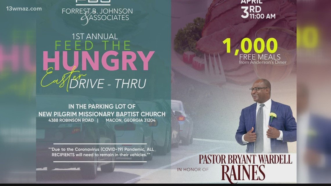 Macon law firm plans Easter meal giveaway to remember late pastor