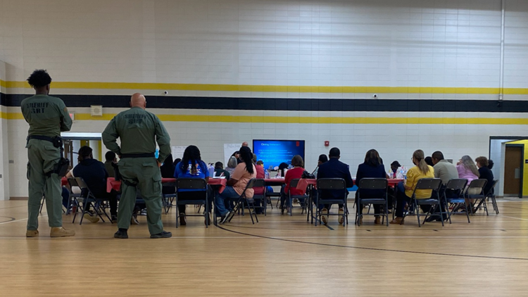 Jeffersonville Elementary staff go through active shooter training