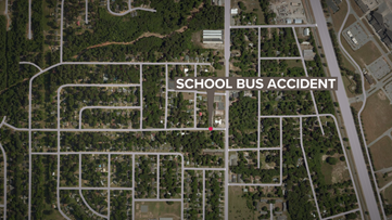 School buses involved in accident in Warner Robins