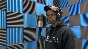 Peacing Together: Macon hip-hop artist hopes his lyrics inspire youth to 'be better'