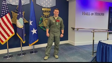 Warner Robins airman presented award at Pentagon