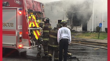 'Scary... Could've been mine': 45 displaced after fire at west Macon apartments