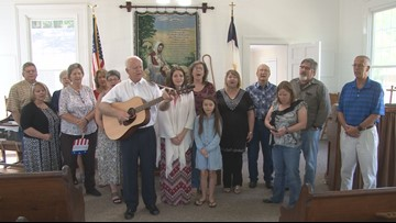 Revived Elko church to sing national anthem at Macon Bacon game