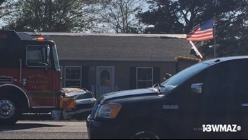 Scene of Baldwin County triple fatal accident