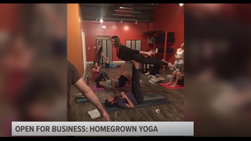 Open for Business | Homegrown Yoga in Warner Robins