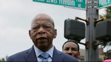 Congressman John Lewis' legacy runs deep in Central Georgia
