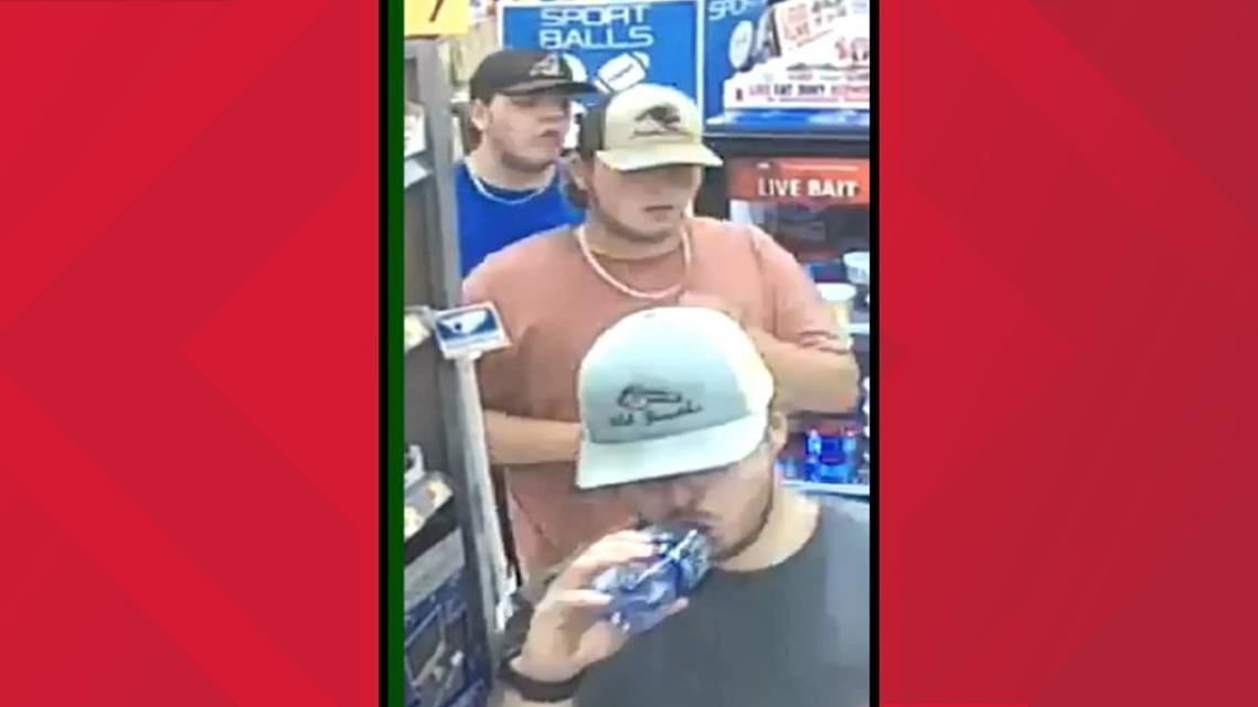Bibb deputies looking for 3 men accused of vandalizing north Macon Walmart