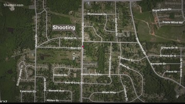 2 shot after family dispute in west Macon