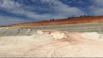 An inside look at a Washington County kaolin mine