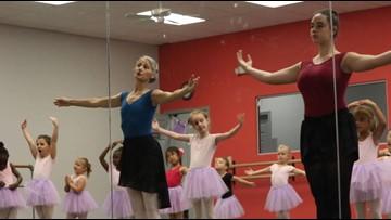 Kids get on pointe at Ballerina summer camp