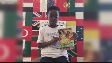 8-year-old from Milledgeville becomes published author, holds first book signing on Facebook