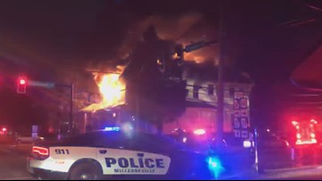 UPDATE | No injuries reported in Milledgeville frat house fire