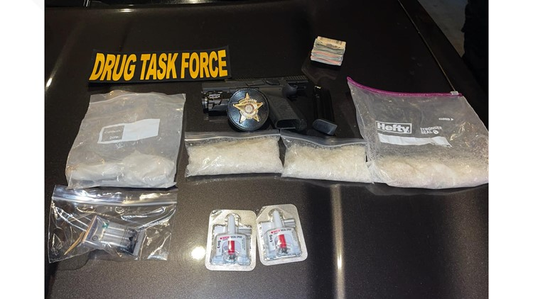 One arrested in meth, heroin trafficking bust in Wheeler County