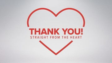 Thank You, Straight From the Heart! | Bibb County Sheriff's Office