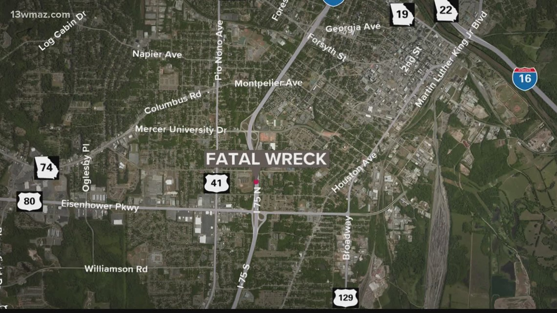 1 dead, 1 hospitalized after accident on I-75S in Macon