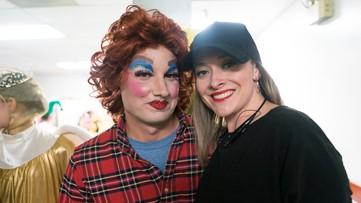 13WMAZ Chief Meteorologist Ben Jones put on makeup, wig, dress for 'Mother Ginger' role in the Nutcracker