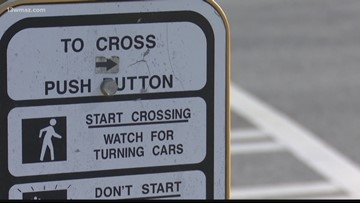 Pedestrian killed along I-16 Interchange construction zone