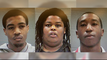 Baldwin deputy fires shots during armed robbery arrests, 3 suspects in custody