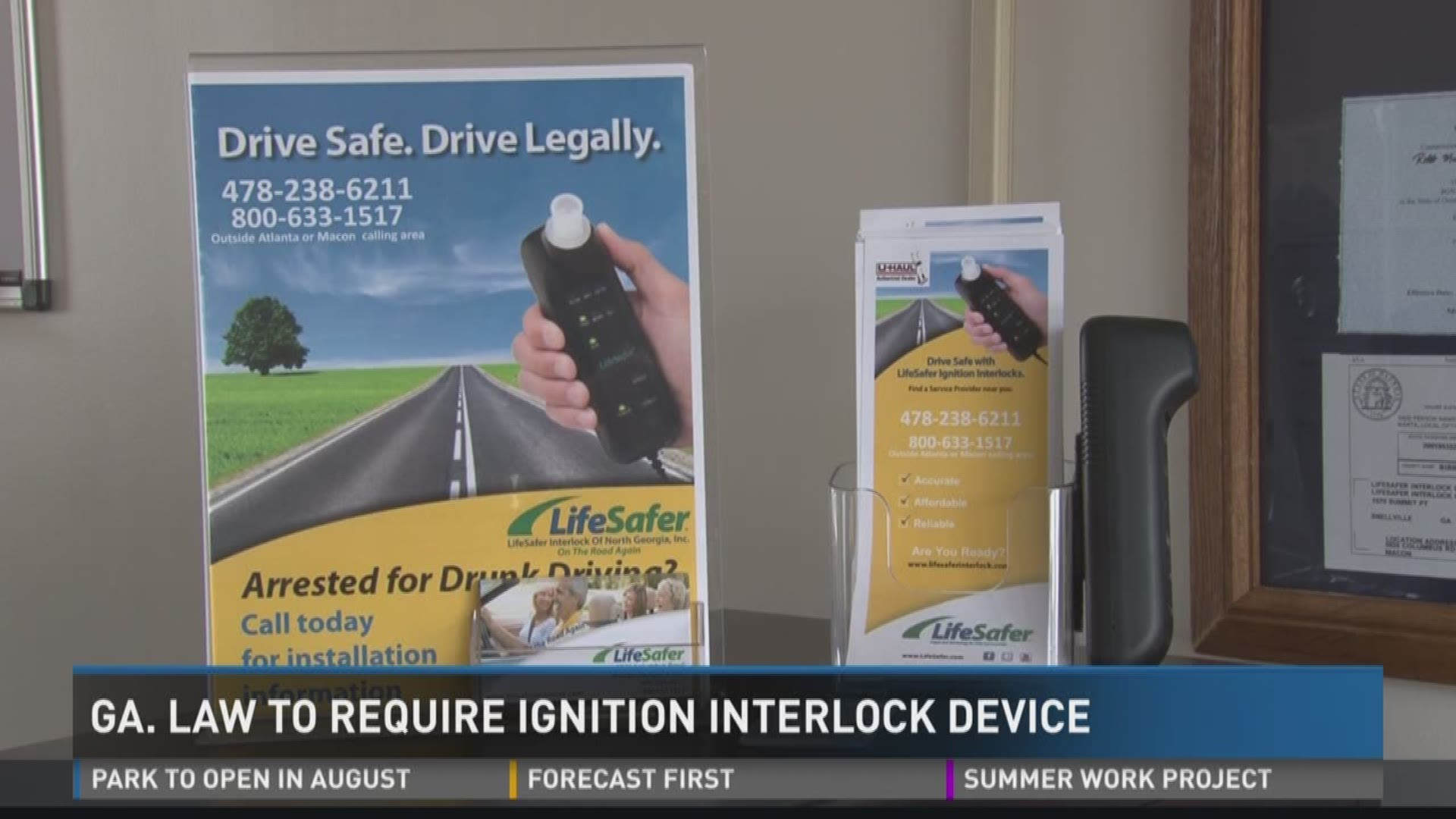 Georgia Law To Require Ignition Interlock Device For Dui