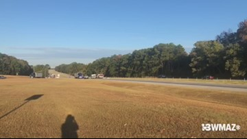 1 dead, 5 injured after Laurens County wreck on I-16 East