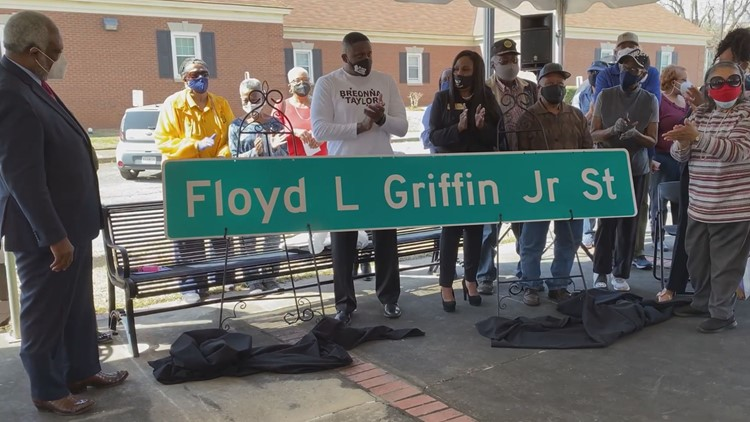 'Auspicious, momentous occasion': Milledgeville street renamed for city's first Black mayor