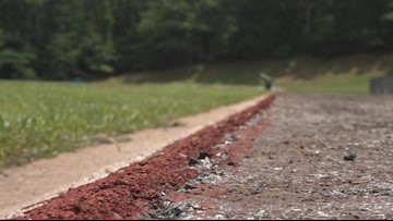 Mary Persons' track gets makeover for next school year