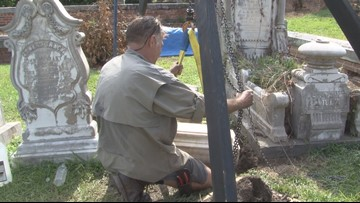 Central Georgia man to lead 'do no harm' cleanup at Macon's Rose Hill Cemetery