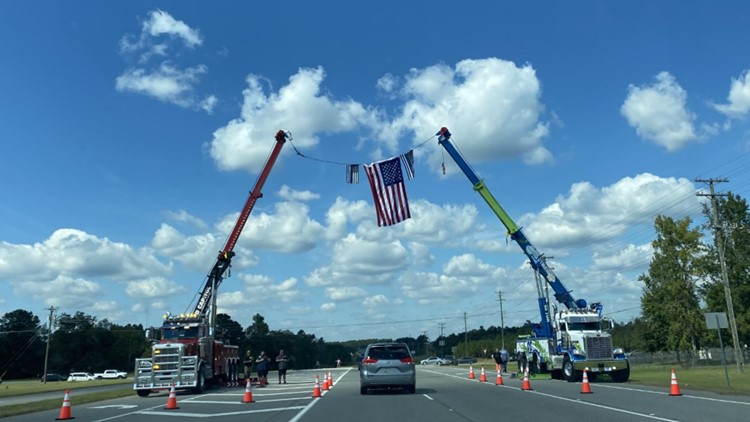 Laurens County says final farewell to Officer Dylan Harrison