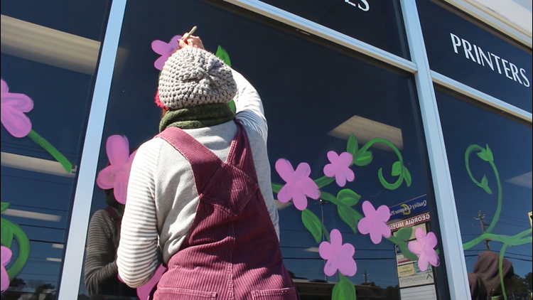 Just Curious: Who's behind Macon's cherry blossom murals?