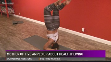 AMPED UP: Mother of 5 serious about healthy living