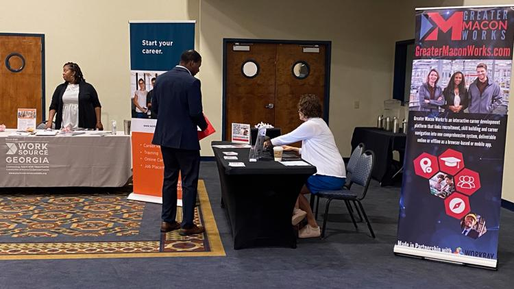 Central Georgia's largest companies kickoff two-day job fair in west Macon