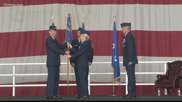 Robins Air Force Base JSTARS unit welcomes new commander