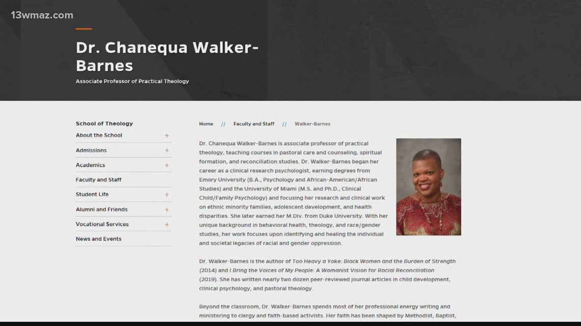 Mercer professor draws criticism over controversial commentary in book