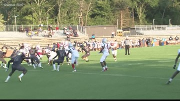 Mary Persons vs. Southwest scrimmage
