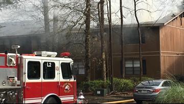 Fire damages 16 units at Warner Robins apartment complex