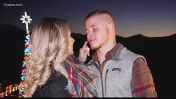 Macon couple gets engaged on Gatlinburg SkyBridge