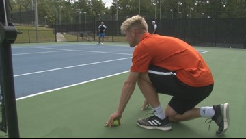 Mercer's tennis coach looking to hire ball runners for upcoming tournament