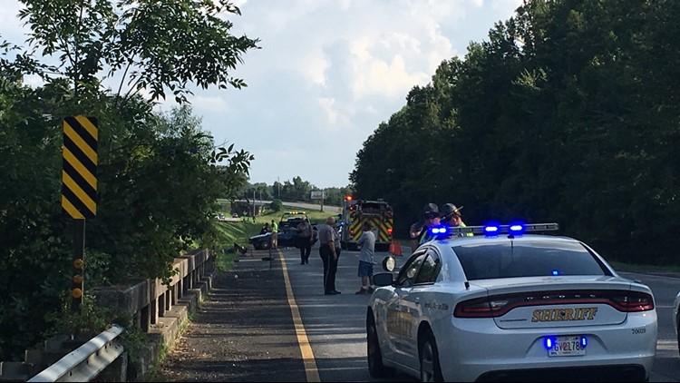Woman killed in south Bibb wreck