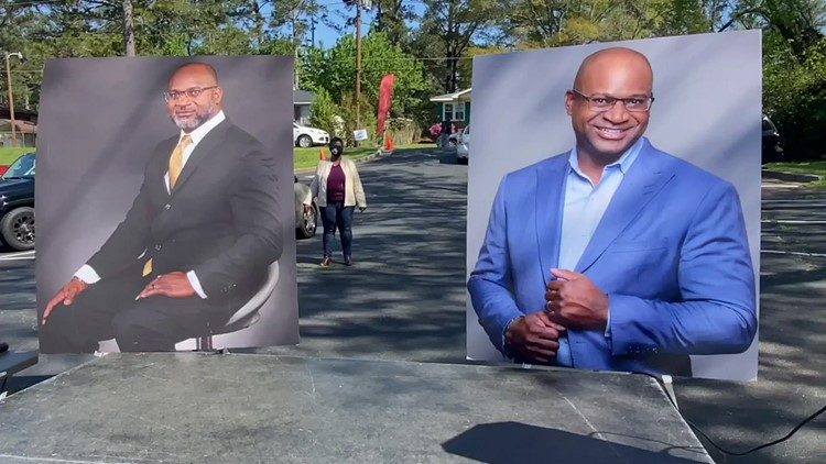 Church hosts food giveaway in honor of pastor who died from COVID-19