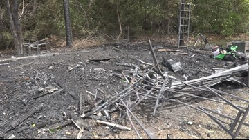 'We are going to take the service to our home:' Lightning causes fire at Bleckley County Church