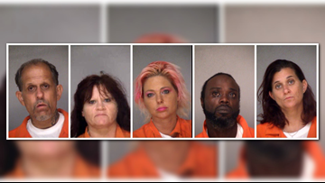 5 charged after drug bust at Macon hotel | 13wmaz com